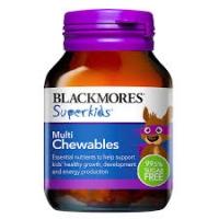 BLACKMORES 澳佳宝小超人多元维生素咀嚼片60片