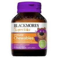 BLACKMORES 澳佳宝儿童提高免疫力咀嚼片60片