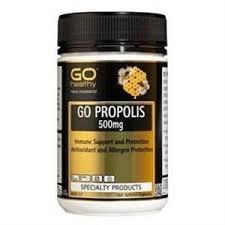 Go healthy高之源蜂胶胶囊增加免疫力 180粒软胶囊