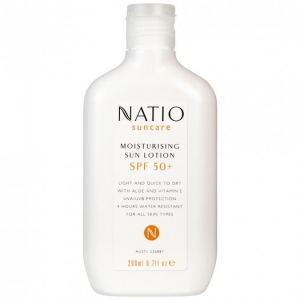 Natio保湿防晒乳液SPF50+200ml