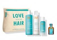 摩洛哥发油洗发护发套装 洗发水250毫升+护发素250毫升+发油25毫升+干发喷雾65毫升